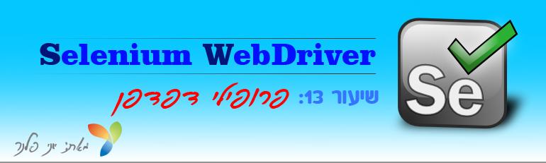 WebdriverCourse13